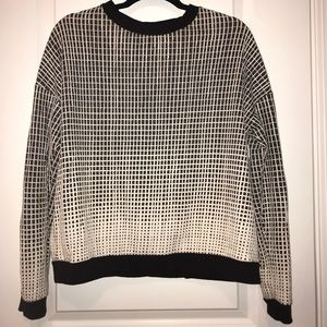 Forever 21 Black and White Sweater